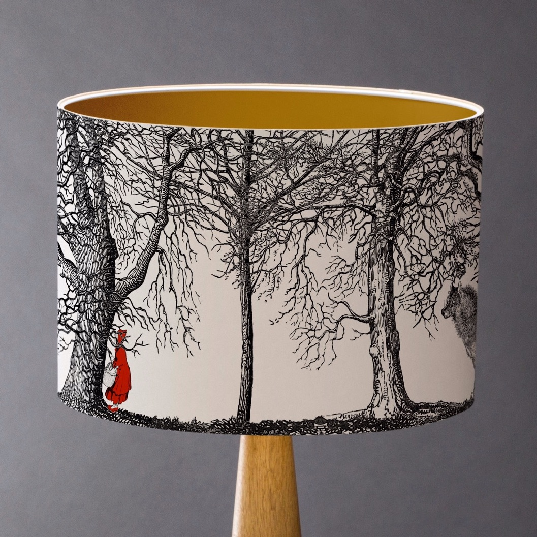 Sample Red Riding Hood Fairytale Lampshade