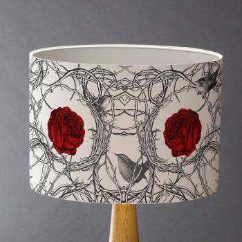 Sleeping Beauty's Roses  Lampshade