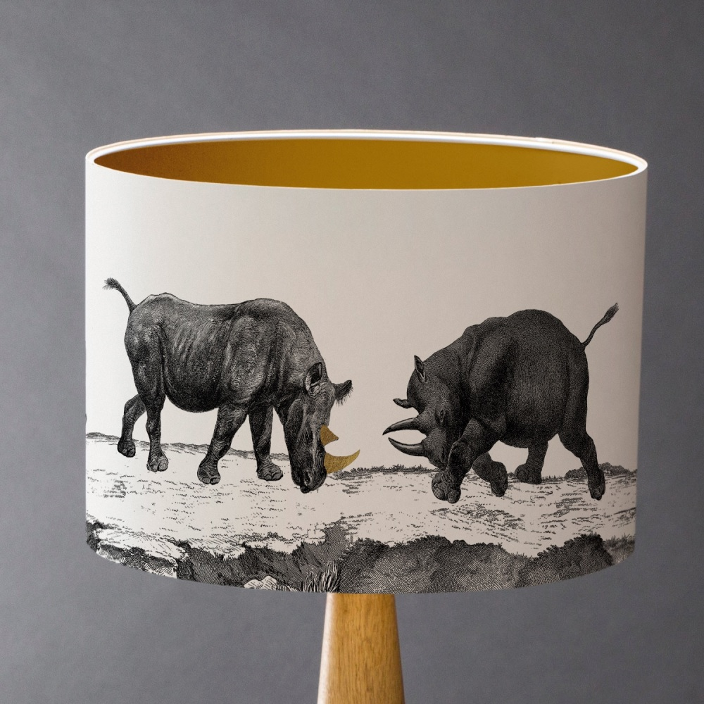 CRASH! Rhino Lampshade