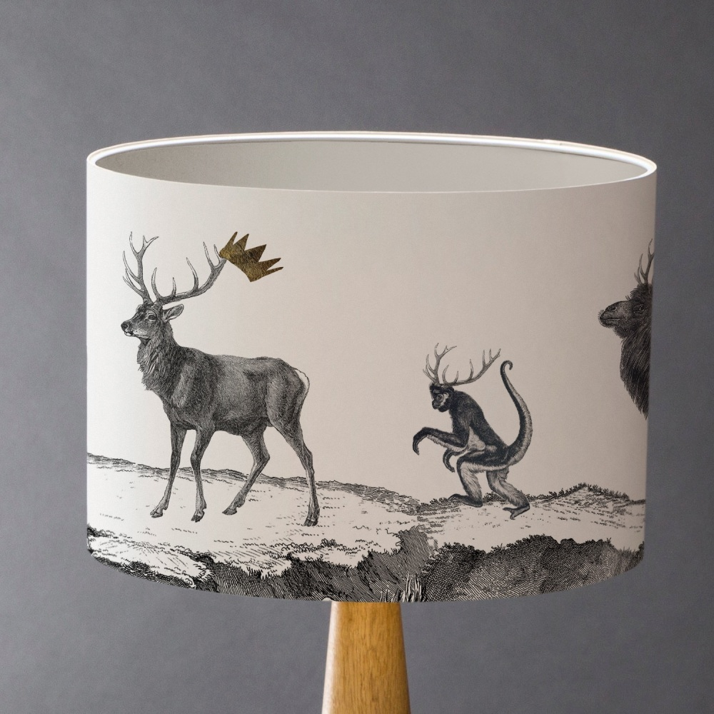 Sample - Stag Night Lampshade