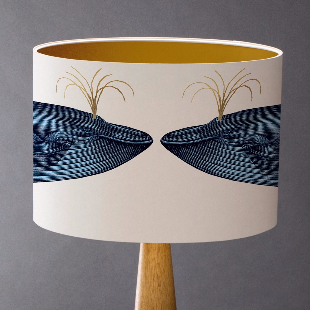 Sample Blue Whale Lampshade