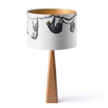 Handmade Large Oak Lamp Base