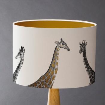 Towering Above - Giraffes Lampshade