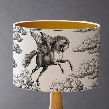 Pegasus Lampshade - White