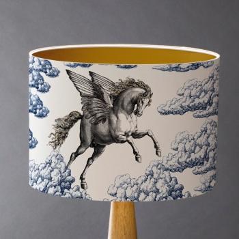 Pegasus Lampshade - Blue