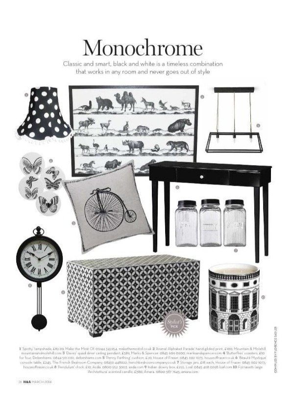 homes & antiques march 14