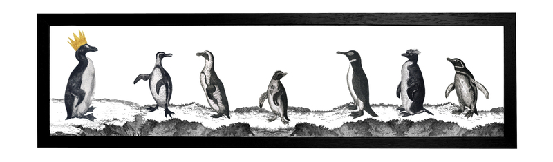 Penguins Print Cut Out