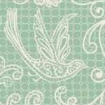 Makower - Bohemia - Lace Seagreen