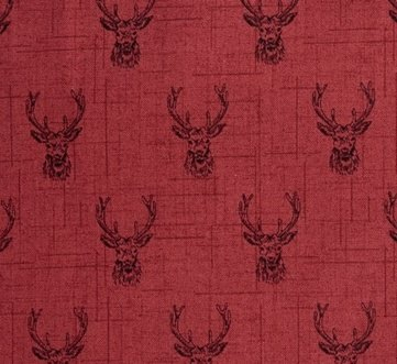 Makower - Balmoral - Stags - Red