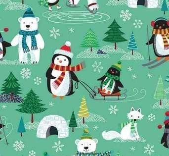 Makower - Frosty - Scene - Multi