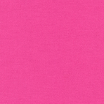 Kona Cotton Solids - Bright Pink - 1049