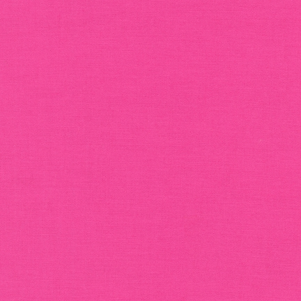 Kona Cotton Solids - Bright Pink - 1049
