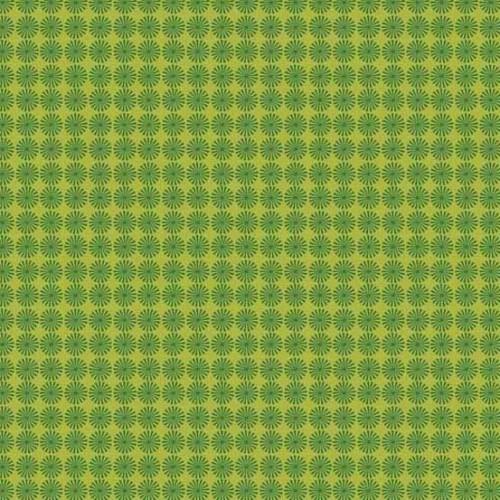 Makower - Wrap It Up - Pinwheel - Green