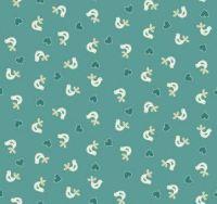 Makower - Papillon - Birds - Turquoise