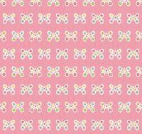 Riley Blake - Garden Girl - Butterfly - Pink