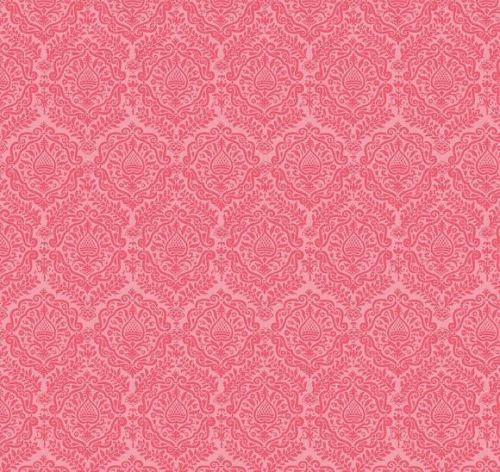Riley Blake - Garden Girl - Damask - Raspberry