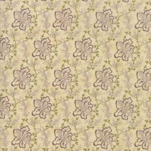 Moda - Lilac Rose - Beige with purple flower - G