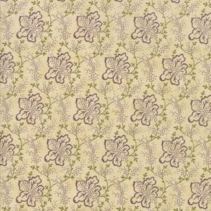 Moda - Lilac Ridge - Beige with purple flower