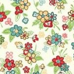 Makower - Katy J Multi Floral - EE