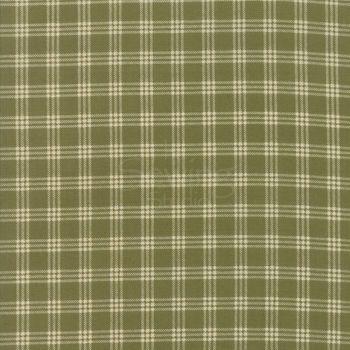 Moda - Lilac Ridge - Green and cream check