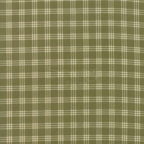 Moda - Lilac Ridge - Green and cream check - E