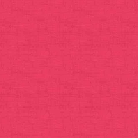 Makower - Linen Texture - Raspberry