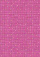 Lewis & Irene - Lindos - Pink little tiles with gold metalic