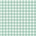 Makower - New Gingham - Duck egg - REMNANT