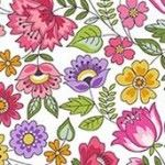 Makower - Bloom - Chintz Pink