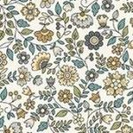 Makower - Bloom - Floral Scroll - Cream