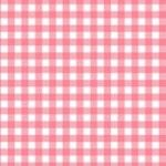 Makower - Gingham - Pink