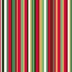 Makower - Twelve days - Red pinstripe