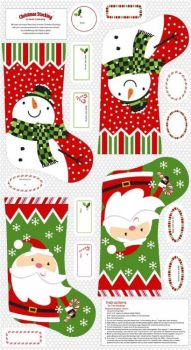 EQS - Studio e - A Christmas wish - Stocking panel