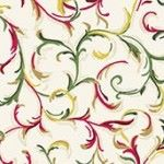 Makower - Decorative Scroll - Cream