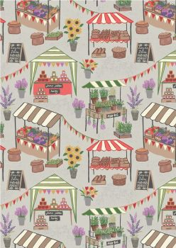 Lewis & Irene - Farmers Market on Light Grey