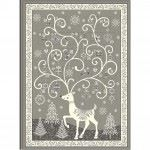 Makower - Scandi - Advent Calendar Panel - Grey