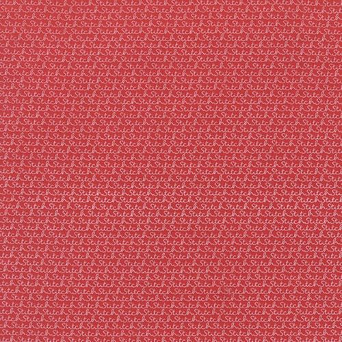 Moda - Sweetwater Volumn II - Stitch on Red