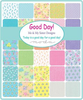 "Moda - Good Day by Me & My Sister - 2 1/2"" strips Jelly Roll"