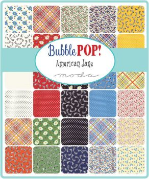 "Moda - Bubble Pop by American Jane - 5"" Charm Squares"
