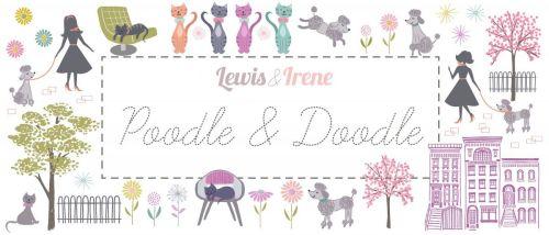 Lewis & Irene - Poodle & Doodle Fabulous 40s - 2 1/2