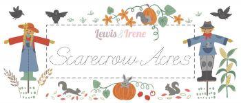 "Lewis & Irene -  Scarecrow Acres - Fabulous 40s - 2 1/2"" strips x 40"