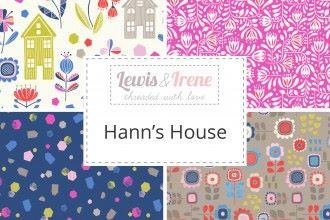 "Lewis & Irene -  Hanns House - Fabulous 40s - 2 1/2"" strips x 40"