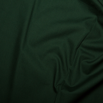 Rose & Hubble - 100% Plain Cotton Poplin - Bottle Green