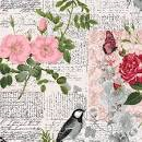 Clothworks - Carte Postale by Skipping Stones Studio light pink