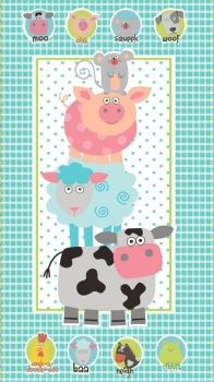 EQS - Studio e - Funny Farm Panel by Diane Eichler