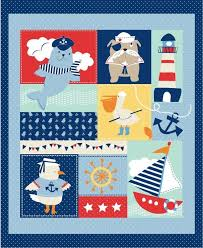 EQS - Studio e - Ahoy Matey panel by Mary Jane Mitchell Designs