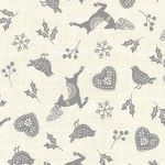 Makower - Scandi Icon Scatter Grey