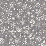 Makower - Scandi Snowflakes Grey