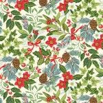 Makower - Yuletide - Christmas Foliage Cream