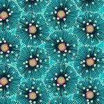 Makower - Reef by Beth Studley - Urchin Turquoise